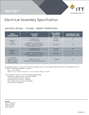 Electrical Assembly Specification